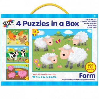 4 Puzzles in a box Farm- Galt