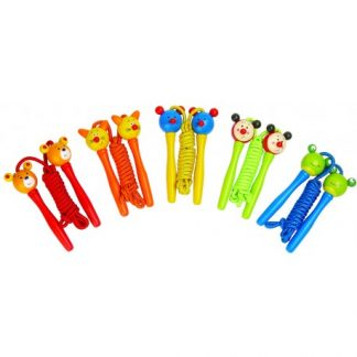 skipping rope wooden toys