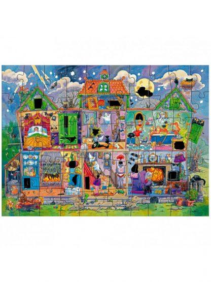 Haunted House Magic Puzzle