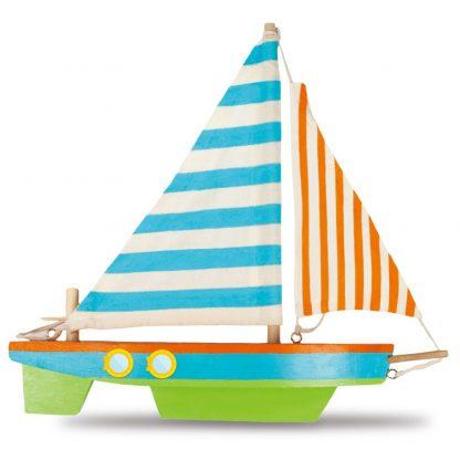 Wooden Sailing Boat