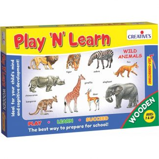 Play & Learn – Wild Animals