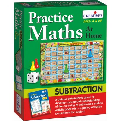 Practice Maths at home- Subtraction