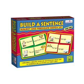 Build A Sentence Part 1