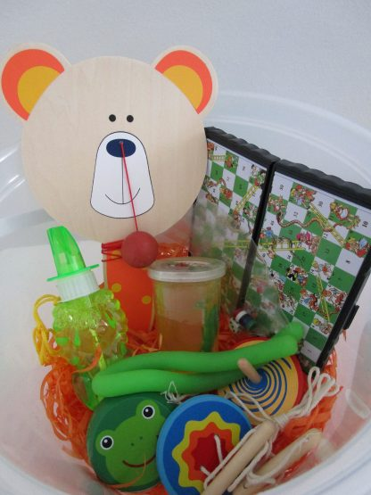 Boy fun bucket