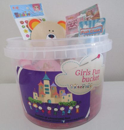 Girl fun bucket